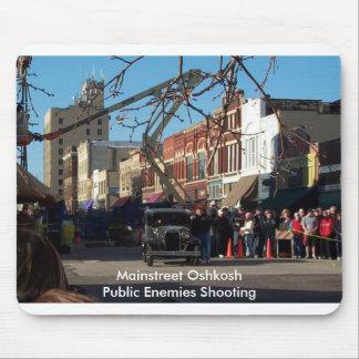 Mainstreet Oshkosh - offentligt skjuta för fiender Musmatta