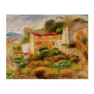 Maison de la Posta vid Pierre-Auguste Renoir Vykort