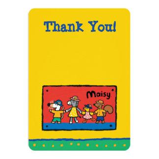 Maisy och bästa vänhållhänder 12,7 x 17,8 cm inbjudningskort