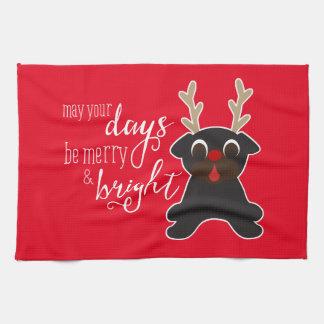 Maj din handduk för ren för daggod julmops kökshandduk