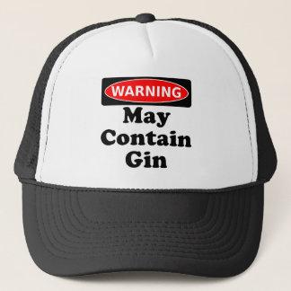 Maj innehåller Gin Truckerkeps
