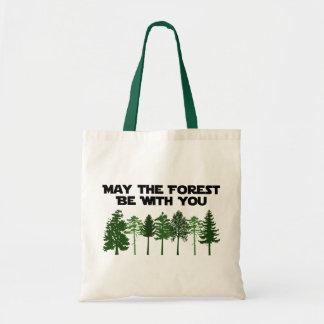 Maj skogen är med dig tygkasse
