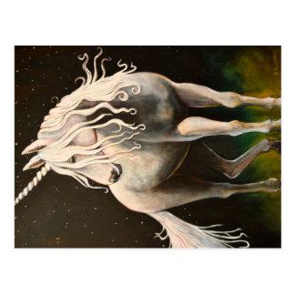 Majestät unicorn.en vykort