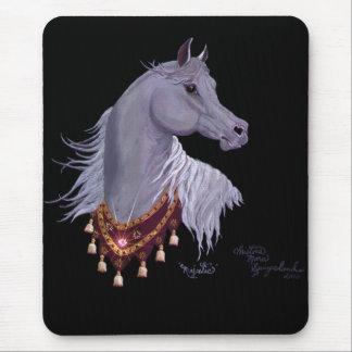 Majestätisk arabisk häst Mousepad Musmatta