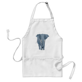 Majestätisk elefant förkläde