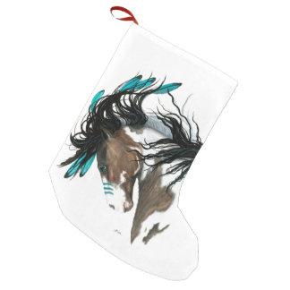 Majestätiska hästar för julstrumpa vid Bihrle