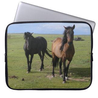 Majestätiska NavajoMustangs Laptop Fodral