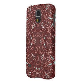 majestätiskt mönster B Galaxy S5 Fodral