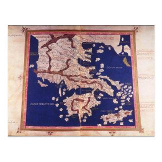 Makedonien och Grekland Vykort