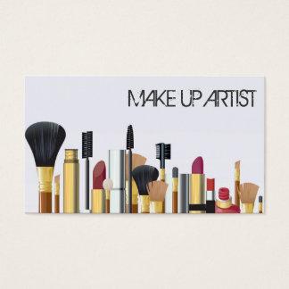 MakeUpkonstnär, Cosmetologyvisitkort Visitkort