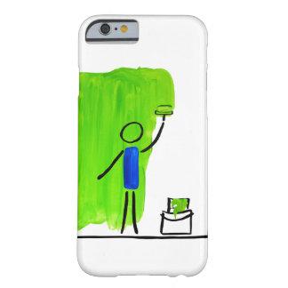 måla din värld barely there iPhone 6 skal