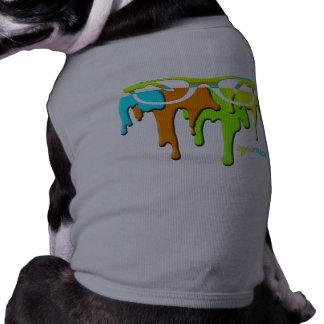 måla dogwearen för droppandeSTRÅLFÖRBUDET Långärmad Hundtöja
