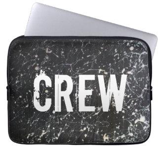 Måla kol och vit för SplatterBESÄTTNING | Laptop Sleeve