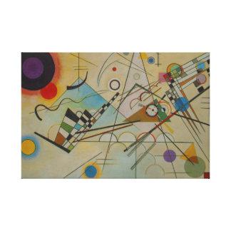 Måla slågen in kanfas för Kandinsky sammansättning Canvastryck