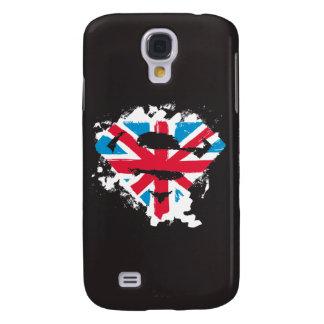 Måla slår britt S-Skyddar Galaxy S4 Fodral