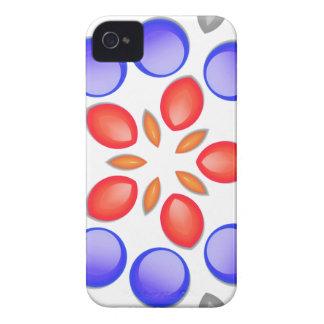 Måla tappar Kaleidscope iPhone 4 Case