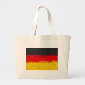 Målad flagga för Grunge Splatter av Tysklandet Jumbo Tygkasse