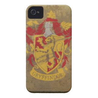 Målad Gryffindor vapensköld iPhone 4 Case-Mate Case