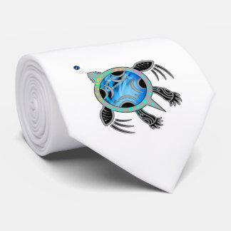 Målad havssköldpadda slips