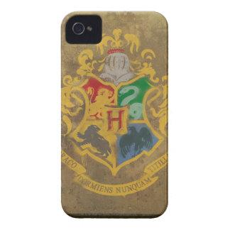 Målad Hogwarts vapensköld Case-Mate iPhone 4 Fodraler