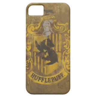 Målad Hufflepuff vapensköld iPhone 5 Case-Mate Cases