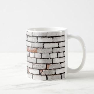 Målad tegelsten kaffemugg