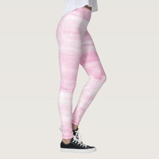 Målad trendig - marmor verkställer tryckdamasker leggings