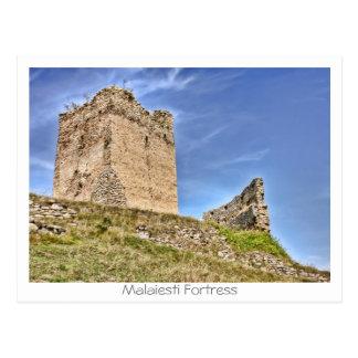 Malaiesti fästning vykort