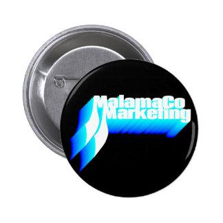 MalamaCo marknadsföring knäppas (skuggar av Standard Knapp Rund 5.7 Cm
