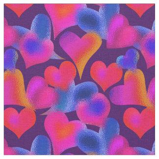 Målat glass målad valentin för hjärtor | dag tyg