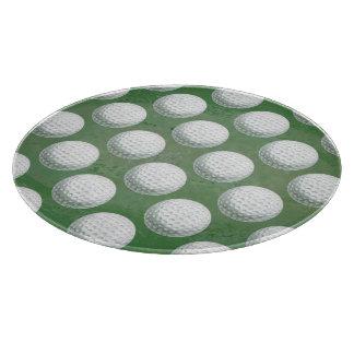 Målat golfbollmönster