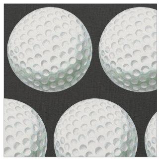 Målat golfbollmönster tyg