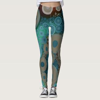 Målat på damasker - Kimberly pris samling Leggings