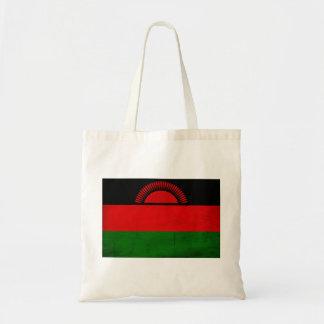 Malawi flagga budget tygkasse