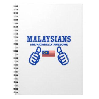 malaysia är naturligt enorm anteckningsbok