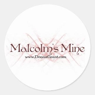 Malcolm Runt Klistermärke