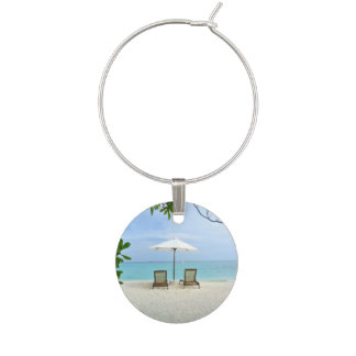 Maldiverna strand berlock vinglas
