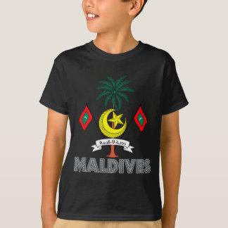 Maldivisk Emblem Tshirts