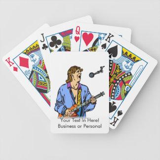 male realistisk blåttskjorta mic.png för sångare spelkort