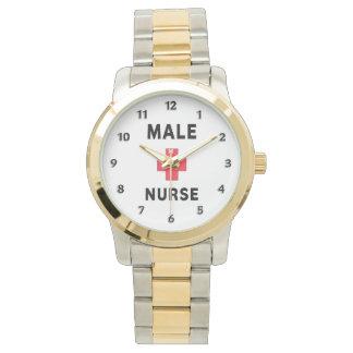 Male sjuksköterska armbandsur