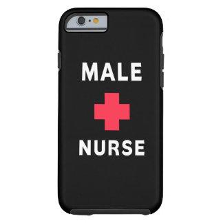 Male sjuksköterskor tough iPhone 6 fodral