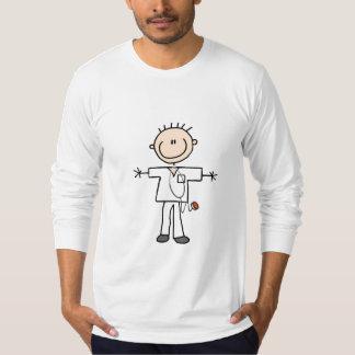 Male stick figursjuksköterskaTshirts och gåvor Tshirts