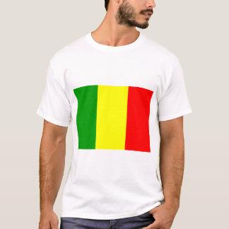 Mali flagga tee shirt