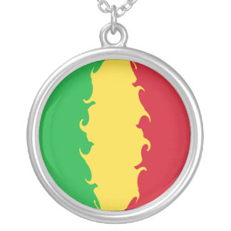 Mali Gnarly flagga Personliga Halsband