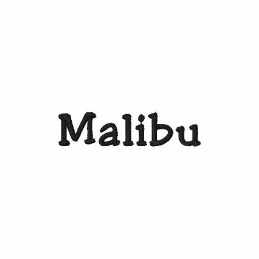 Malibu Kalifornien CA skjorta - anpassade!!! Broderade Polo Tröjor