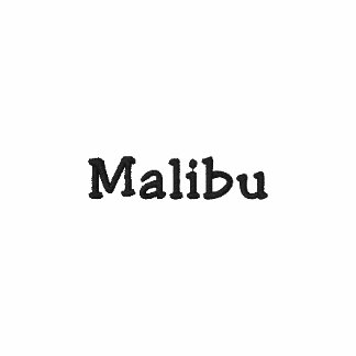 Malibu Kalifornien CA skjorta - anpassade!!!