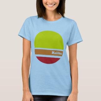 Malibu retro T-tröja Tee Shirt