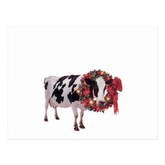 Mall för julkovykort vykort