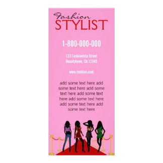 Mall för kort för kugge för modestylist rack kort designs
