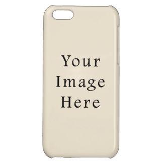 Mall för trend för färg för elfenbenSandsolbränna  iPhone 5C Skydd